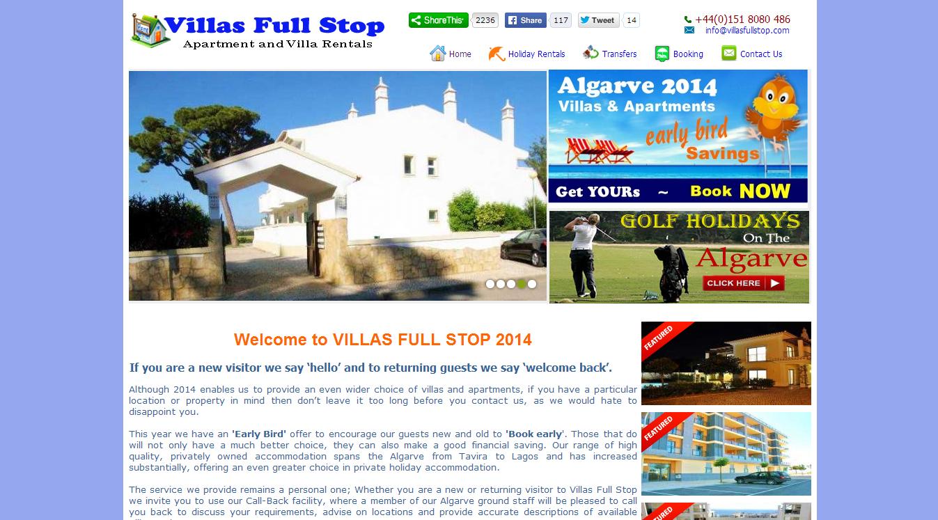 Villas Full Stop